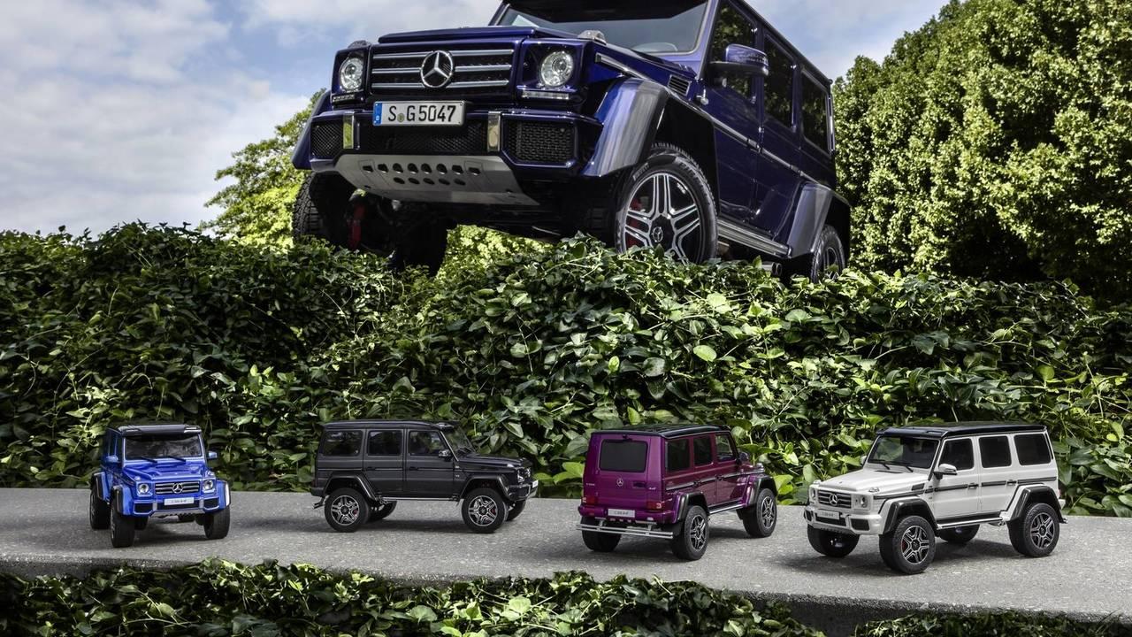 Mercedes-Benz G500 4×4² modelo a escala 1:18