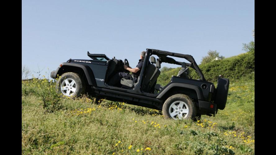 Jeep Wrangler Rubicon V6 3.8 da 199 CV
