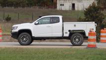 Chevy Colorado ZR2 Utility Spy Photos
