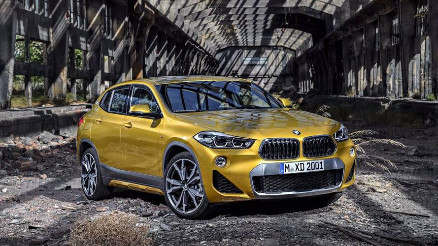 BMW reveals new X2 SUV that will spice up the school run