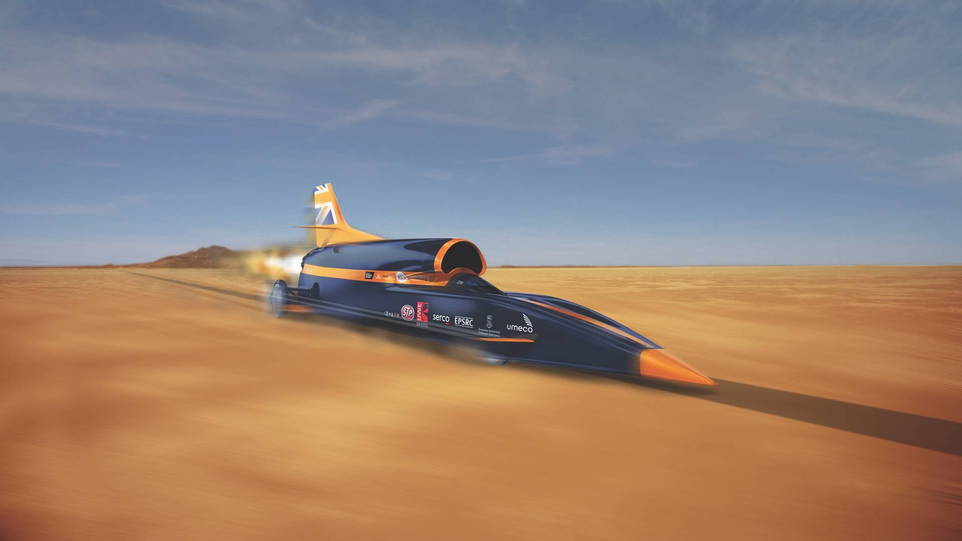 Bloodhound Is Saved And Land Speed Record Might Still Happen