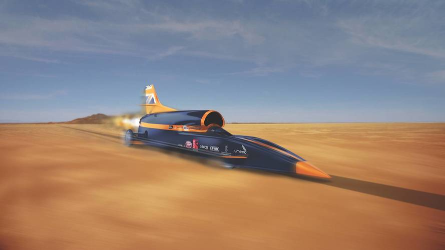 Bloodhound is saved! Land speed record might still happen