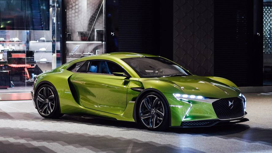 Watch The DS E-Tense Concept Cruise The Shopping Mall, Literally