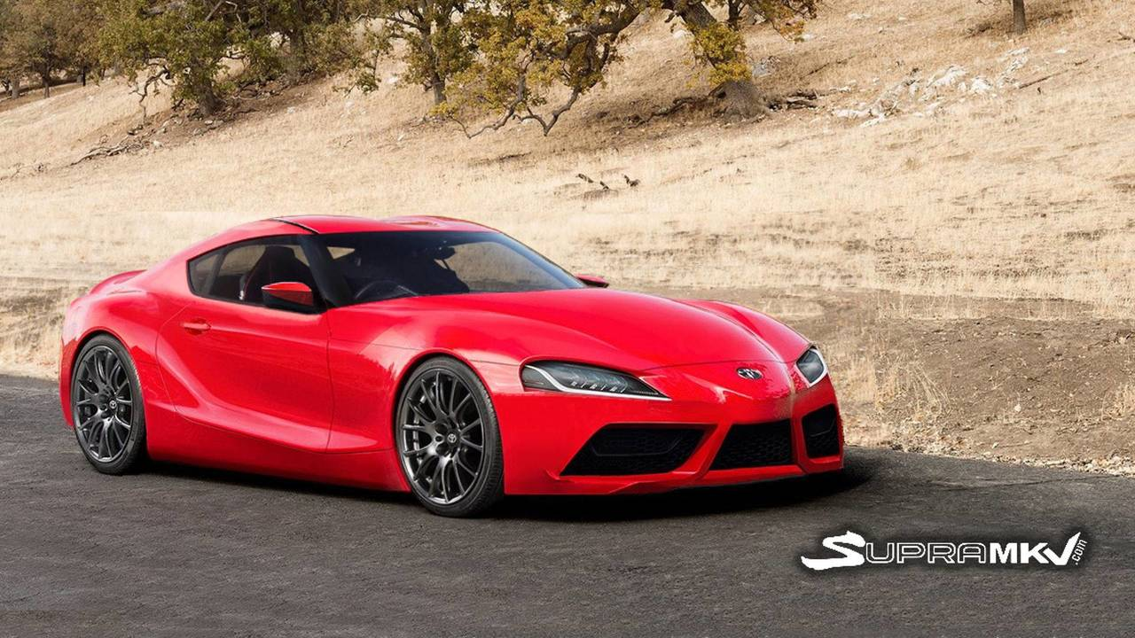 Toyota FT-1 Production Rendering