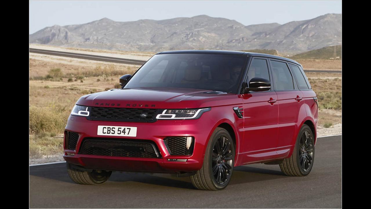 Land Rover Range Rover Sport Facelift