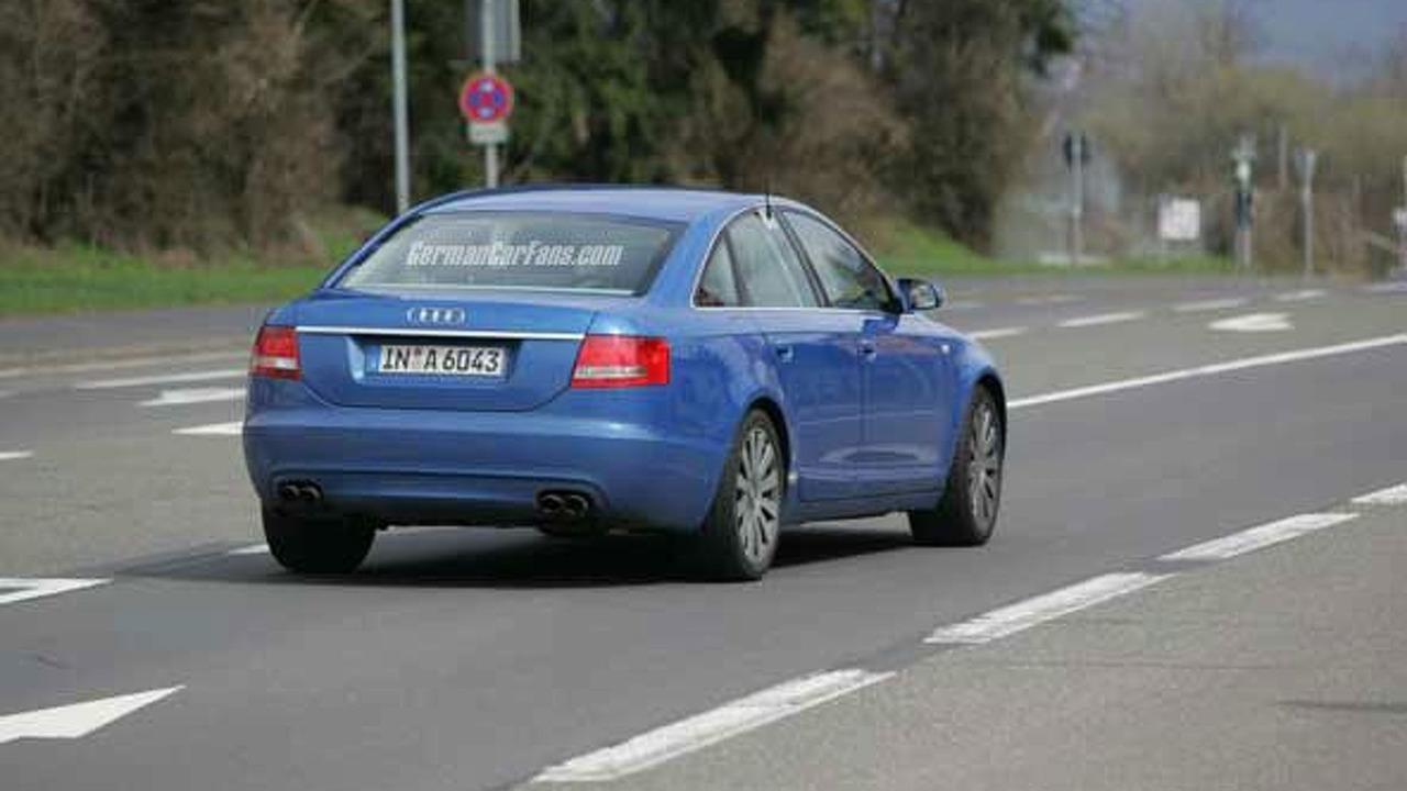 New 2006 Audi S6 Spy Photos
