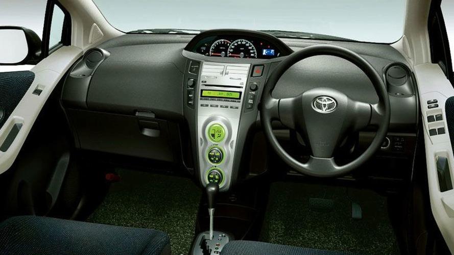 Тойота витц фото внутри автомобиля