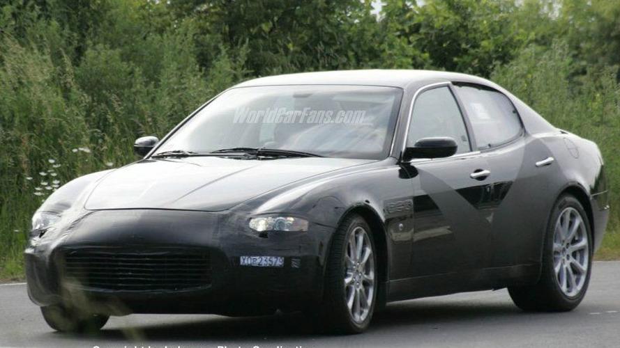 Spy Photos: Maserati Quattroporte Coupe