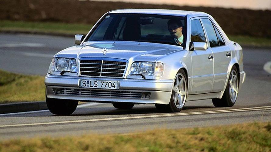 Porsche nous rappelle qu'il a produit la Mercedes 500 E (W124)