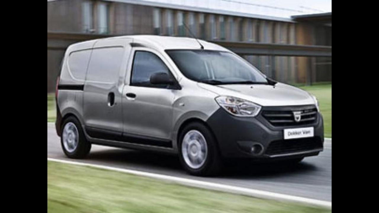 [Copertina] - Il nuovo Dacia Dokker Van è arrivato in Italia