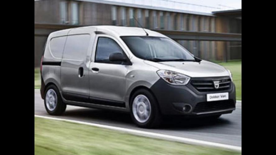 Il nuovo Dacia Dokker Van è arrivato in Italia