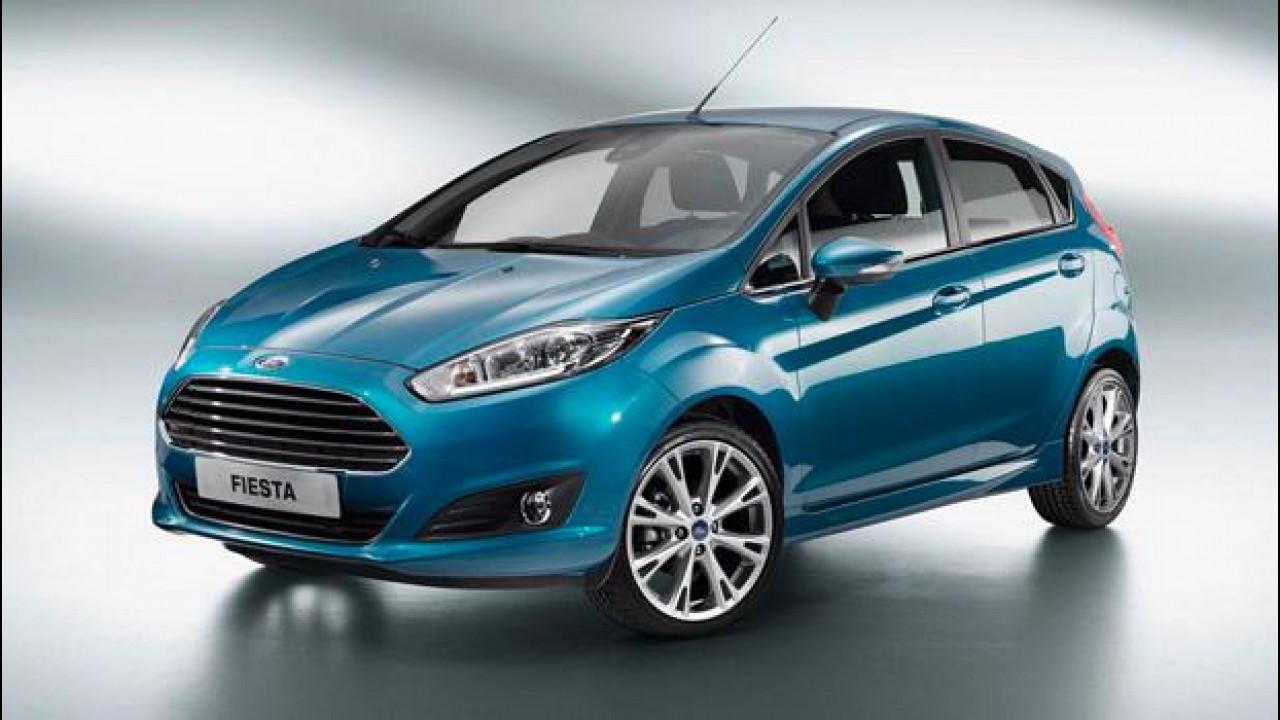 [Copertina] - La Ford Fiesta restyling nascerà a Parigi