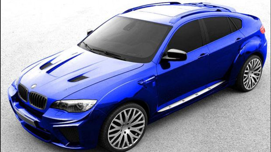 BMW X6 Wide Body styling package by Kahn Design