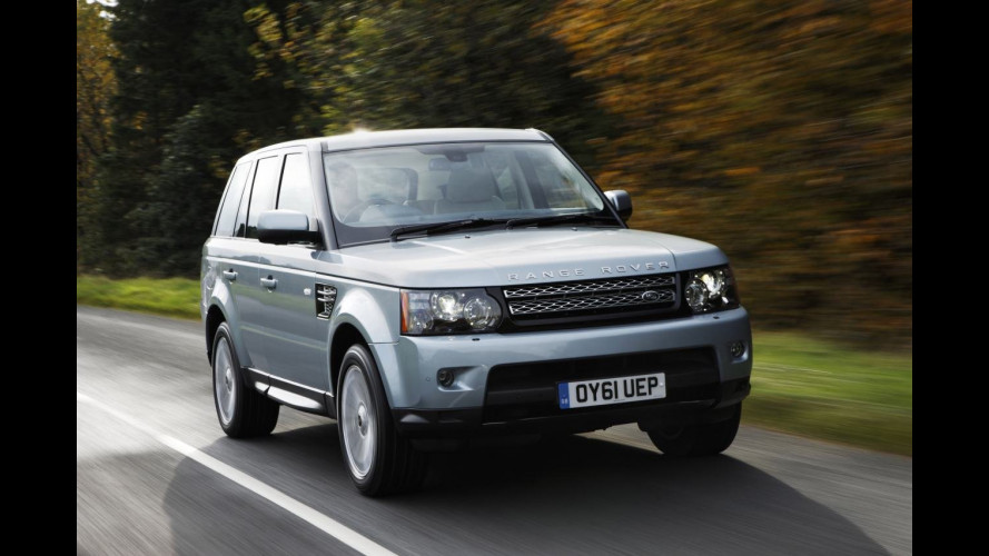 Range Rover Sport 2012: più potenza, più piacere