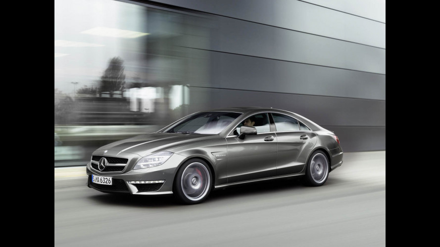 Nuova Mercedes CLS63 AMG