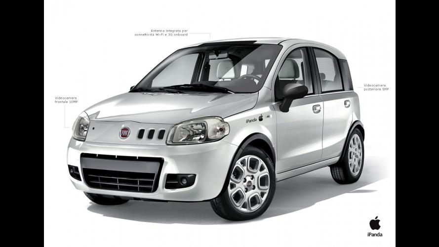 iPanda, la Fiat morde la Mela