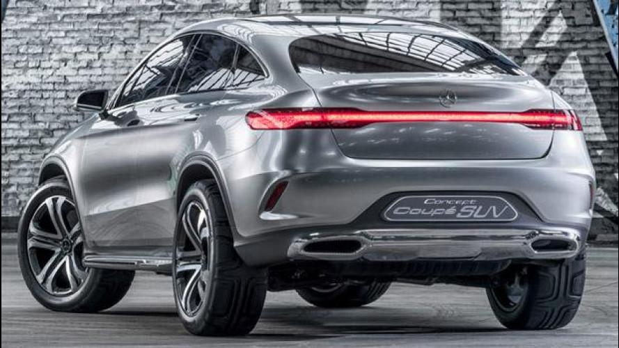 Mercedes Concept Coupé SUV, Freccia d'Argento