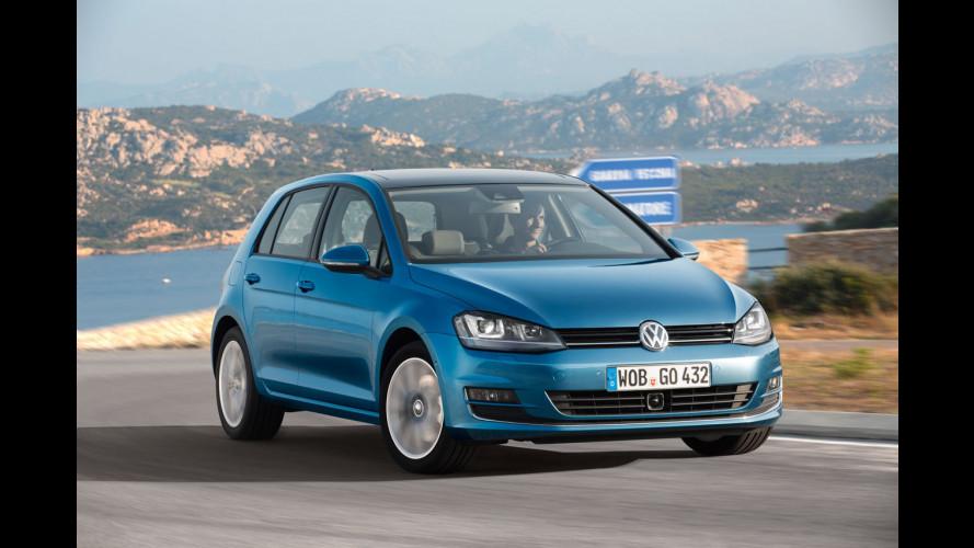 Nuova Volkswagen Golf: le foto inedite