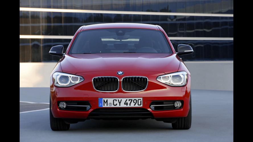 BMW Serie 1: dietro