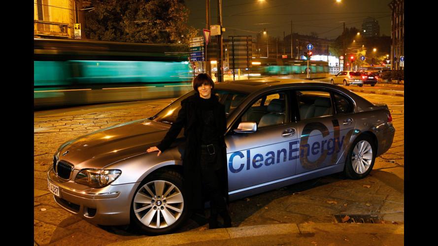Cochi e Renato cantano per BMW Hydrogen 7