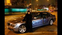 Alcune star con BMW Hydrogen 7
