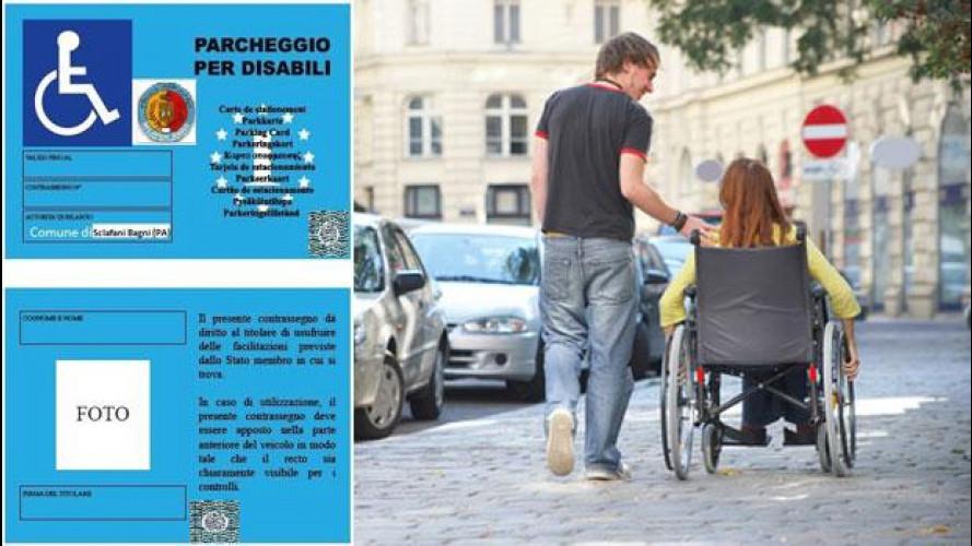 Pass invalidi europeo: dal 15 settembre 2012