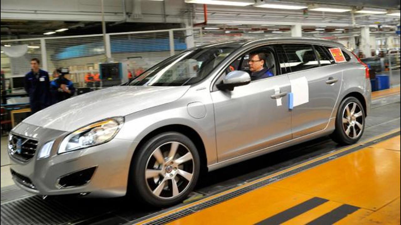 [Copertina] - Volvo incrementa la produzione della V60 Plug-in Hybrid