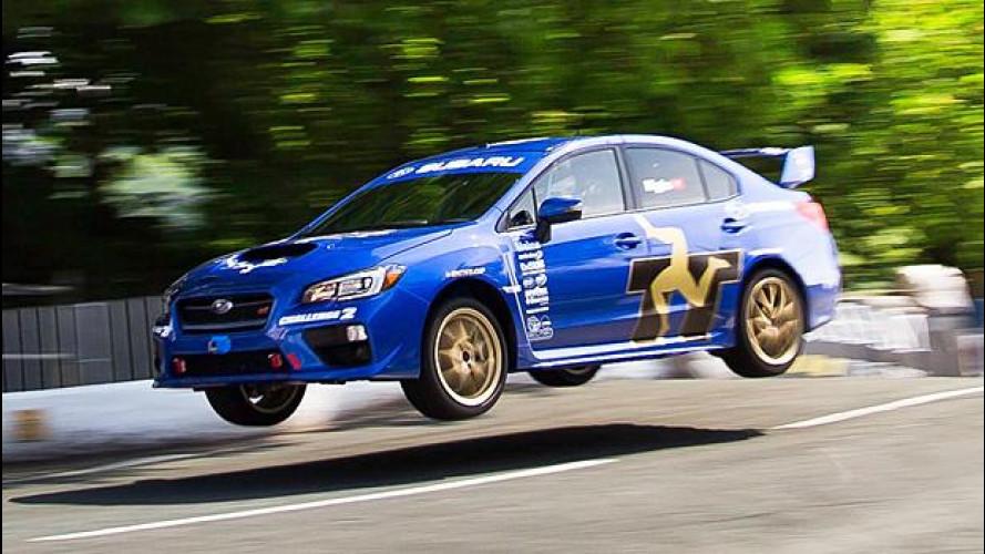 Subaru WRX STI, nuovo record al Tourist Trophy