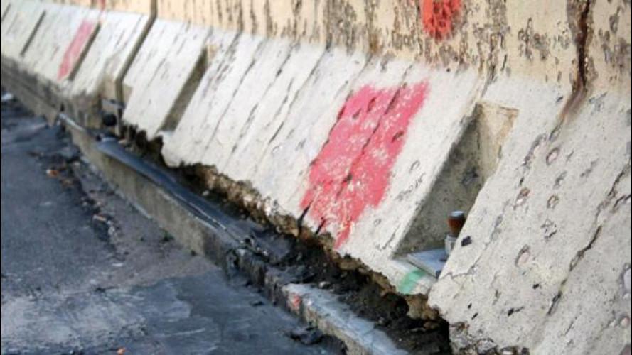 [Copertina] - Guardrail e barriere New Jersey, sono sicure? Incalza la polemica