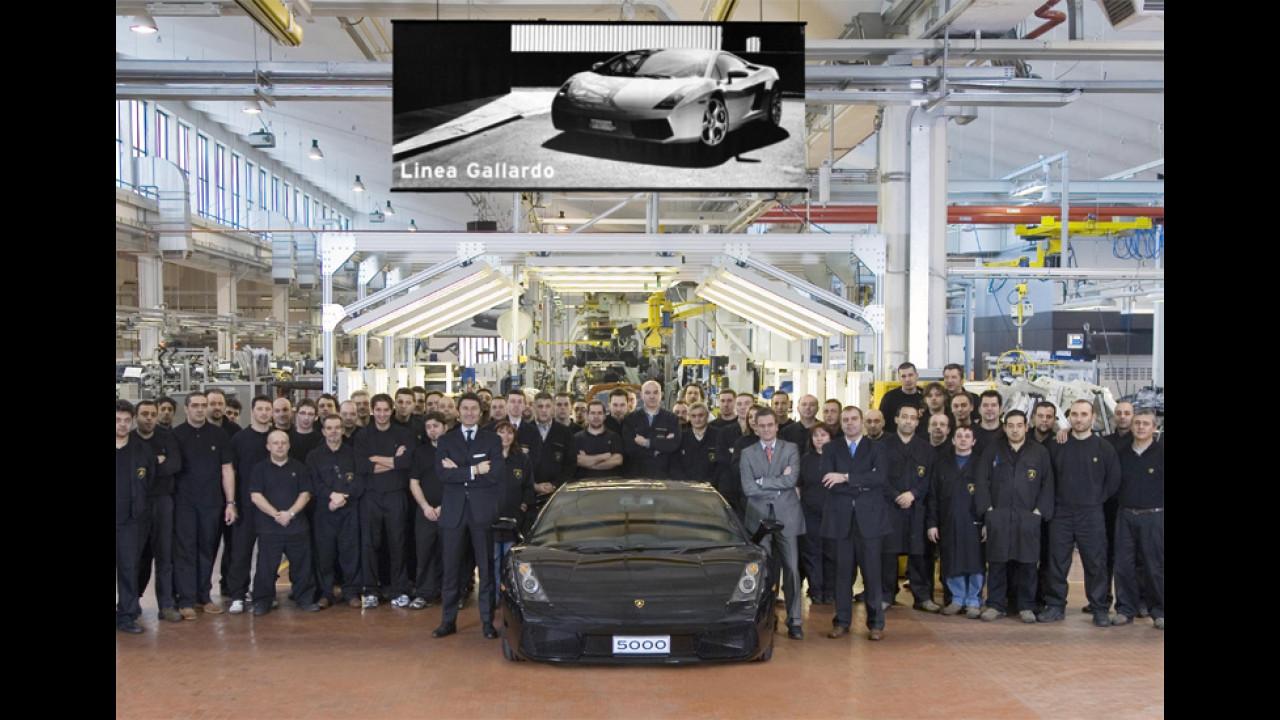 Lamborghini Gallardo numero 5000