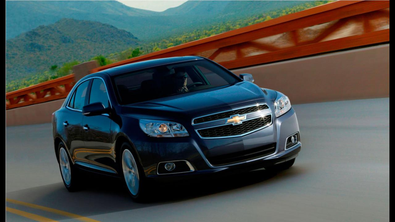 Chevrolet Malibu: l'Insignia