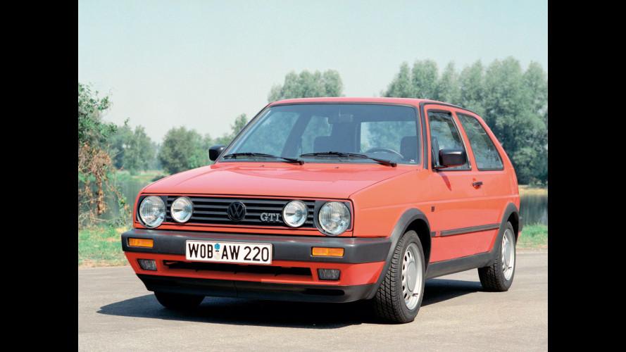 La Volkswagen Golf GTI compie 35 anni
