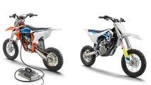 2019 KTM SX-E 5 and Husqvarna EE5