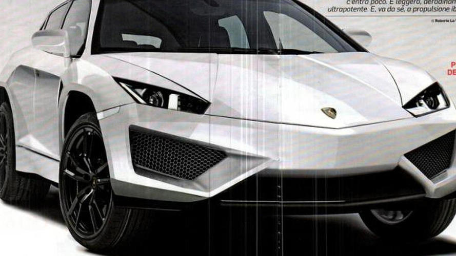 Lamborghini crossover headed to Beijing as the MLC concept - report