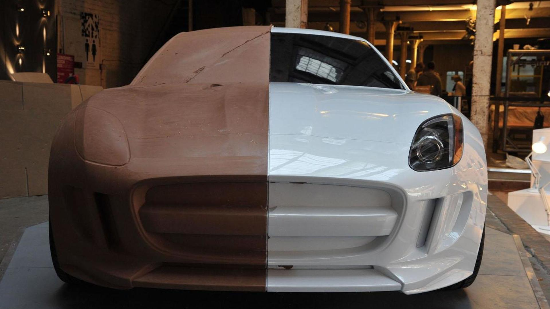 car clay model