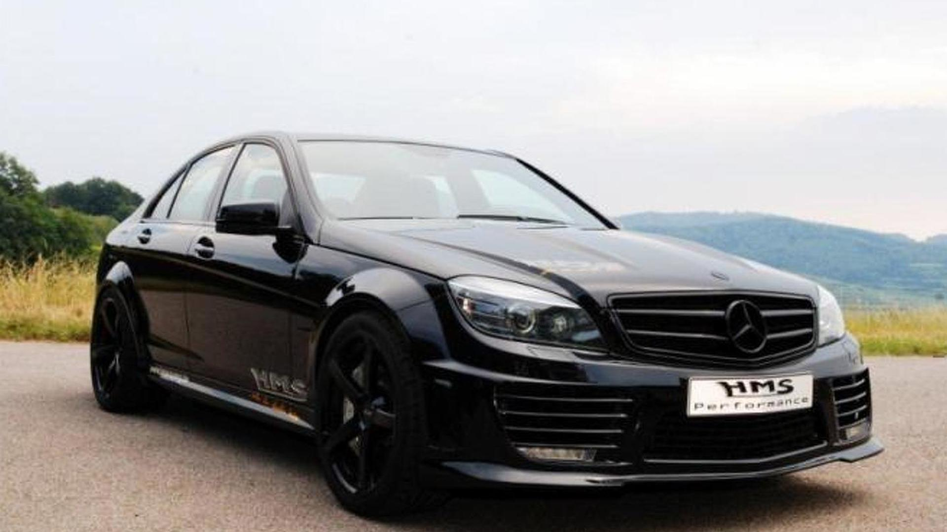 Supercharged Mercedes C63 Amg By Hms Tuning Outputs 690 Hp