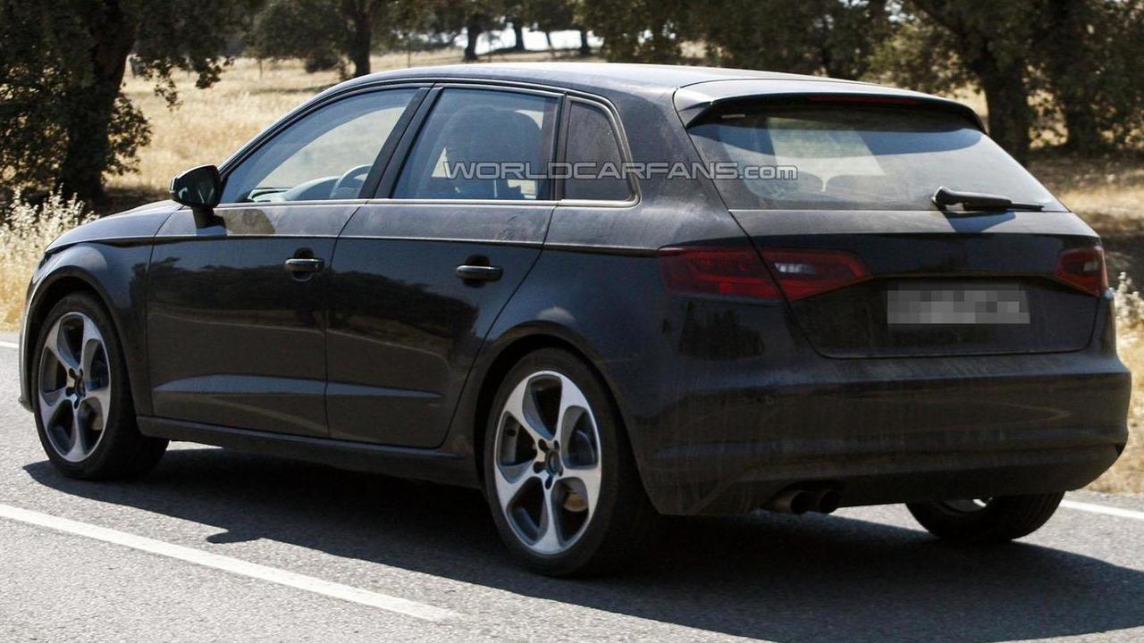 2013 Audi A3 Sportback spy photo 08.8.2012