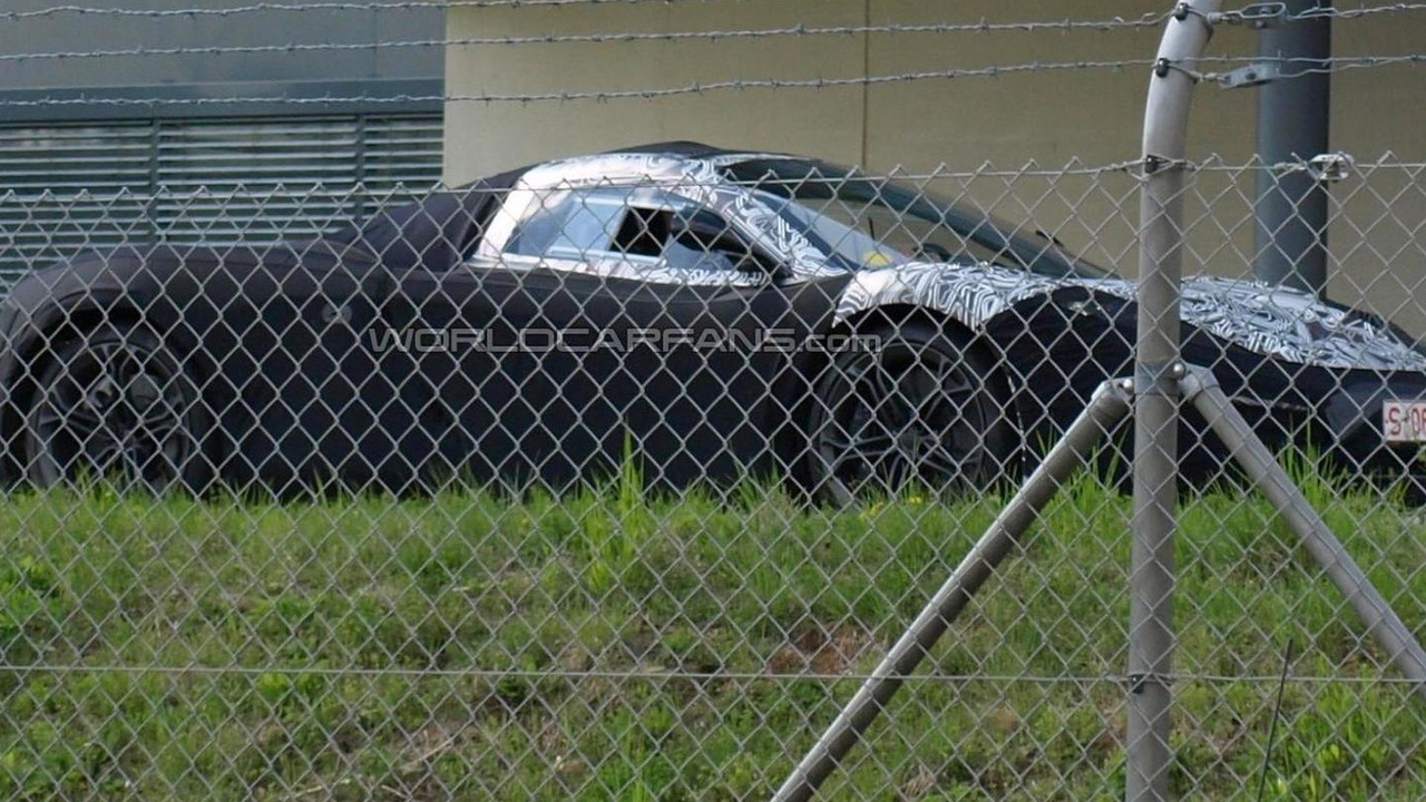 McLaren F1 successor prototype spy photo