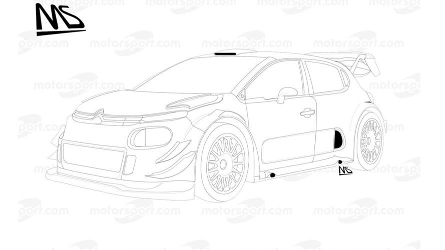 Citroën C3 WRC Plus 2017 detayları