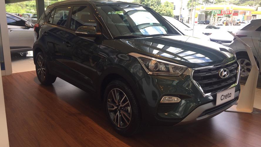 Hyundai Creta chega às lojas, mas somente nas versões mais caras