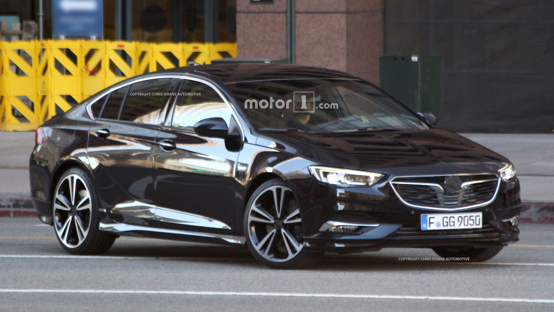 Flagra Essa E A Nova Geracao Do Opel Insignia Sucessor Do Vectra