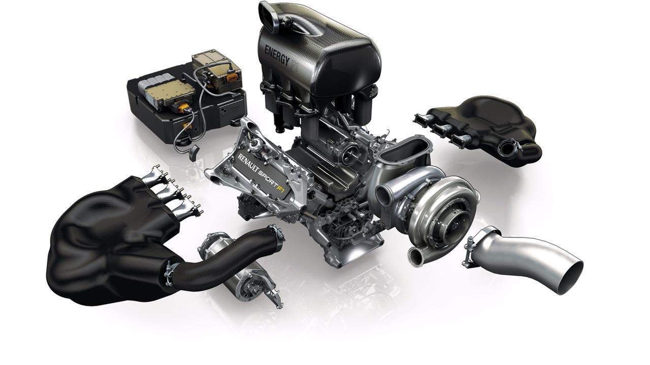 The 2014 Renault Energy F1 V6 motor