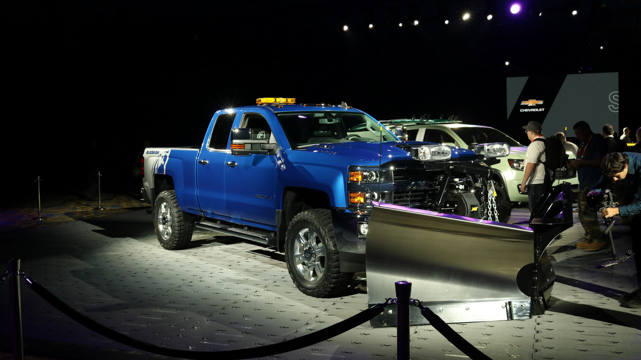 Chevy Silverado Alaskan Edition Concept Live Photo Motor1 Com Photos