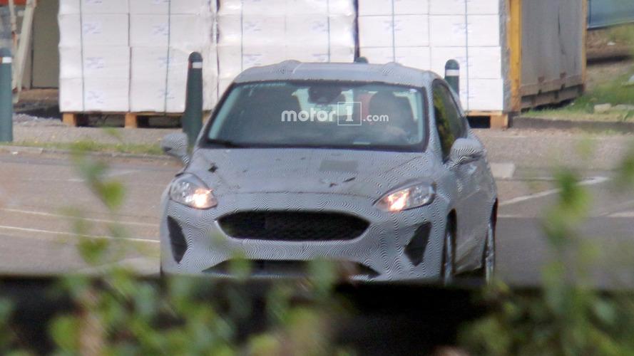 2017 Ford Fiesta spy photo