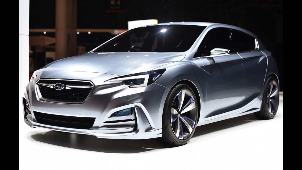Tóquio: Subaru adianta visual da próxima linhagem do Impreza hatch