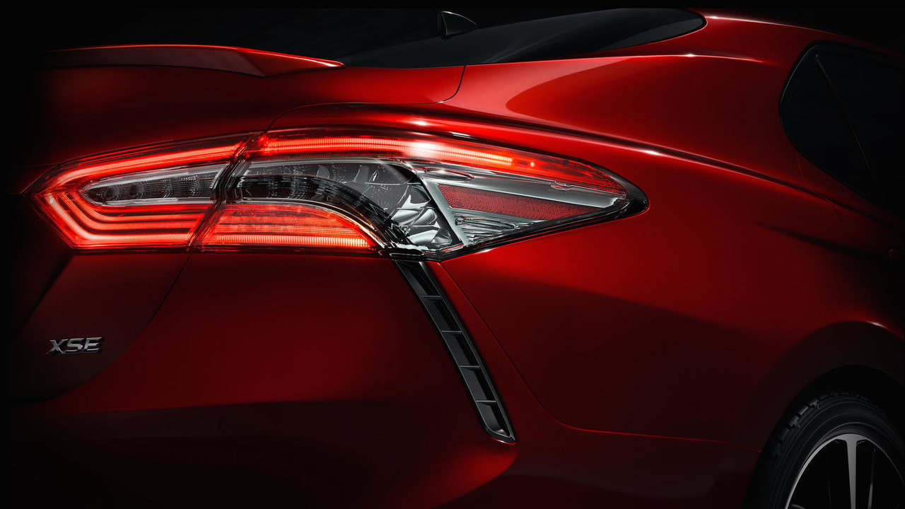 2018 Toyota Camry Teaser
