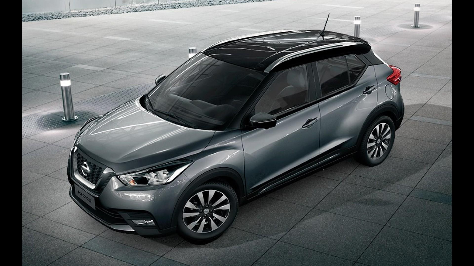 Nissan mostra quatro possíveis combinações de duas cores ...