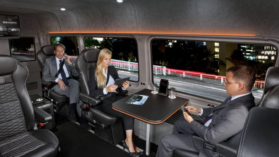 Brabus transforma Sprinter em van executiva de alto luxo de R$ 810 mil