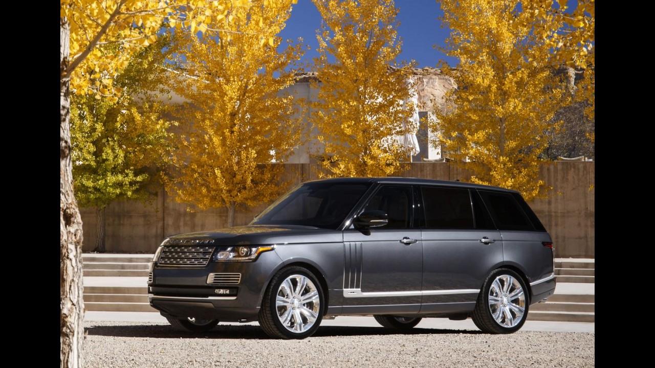 Ranger Rover SVAutobiography realiza viagem