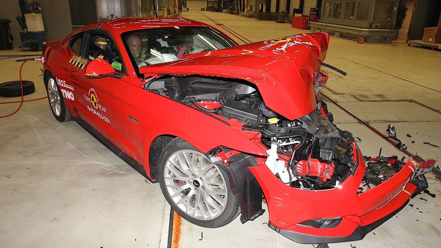 Ford Mustang disappoints after two-star Euro NCAP crash test